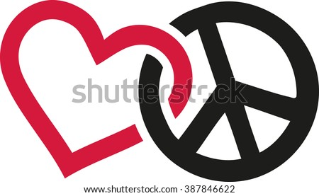Icons About Peace And Love Download Free Vector Art Stock