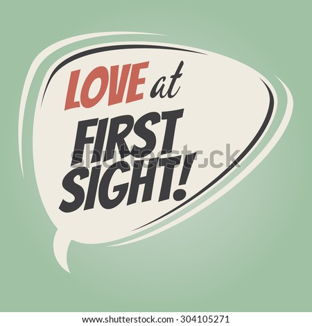 love at first sight retro