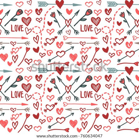 Love background, vector
