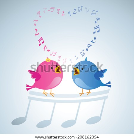 love birds singing song birds