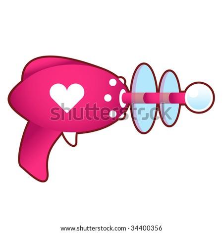 love blaster  pink laser