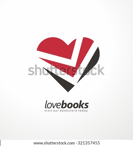 love books creative symbol