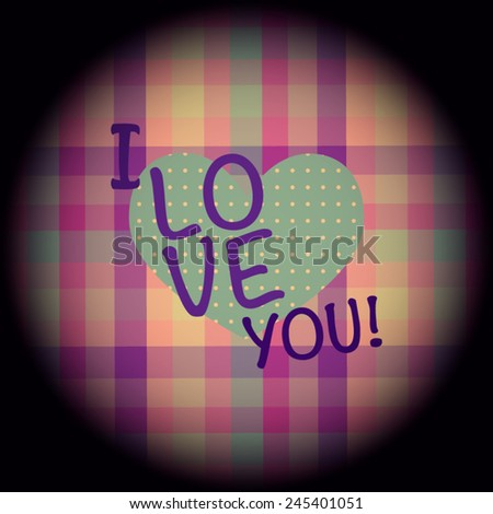 love card colorful vector