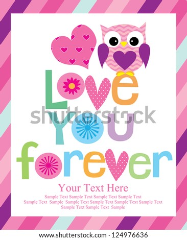 love card design vector illustration