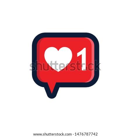 LOVE CHAT DESIGN VECTOR LOGO EPS 10.eps