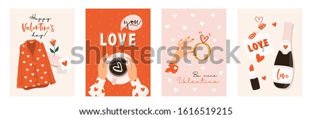 love collection with 4 cards