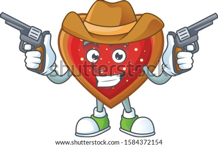 love cookies cartoon character