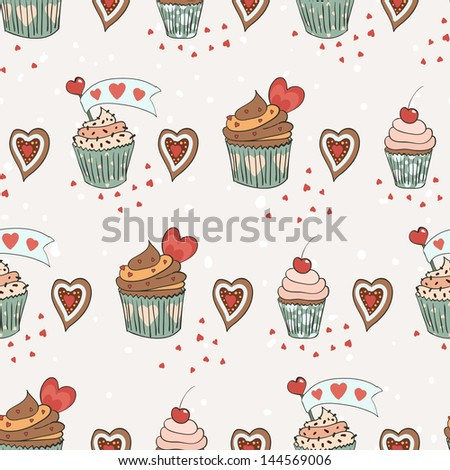 love cupcakes  soft colors