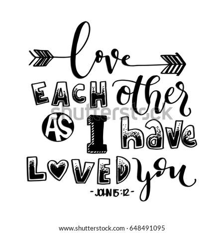 love each other as i have loved