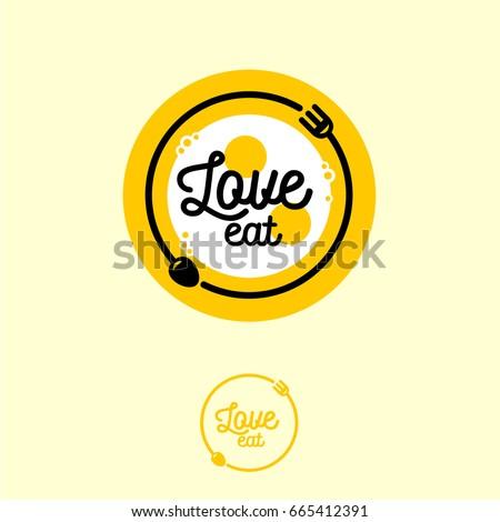 love eat logo cafe or