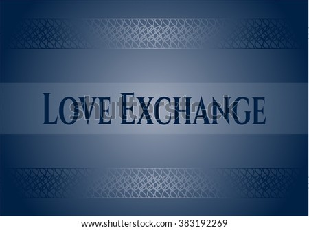 Love Exchange card or poster