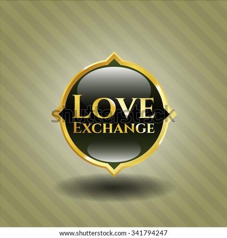 Love Exchange gold shiny emblem