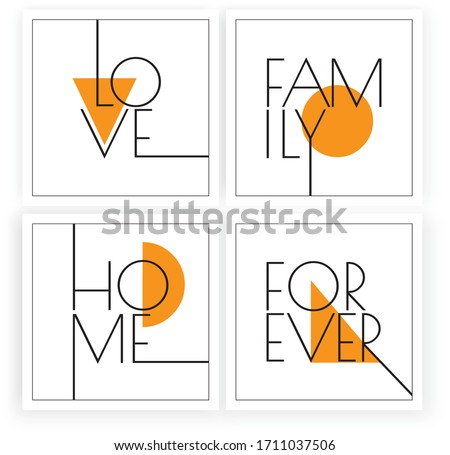 love  family  home forever