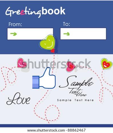 Love Greeting-book