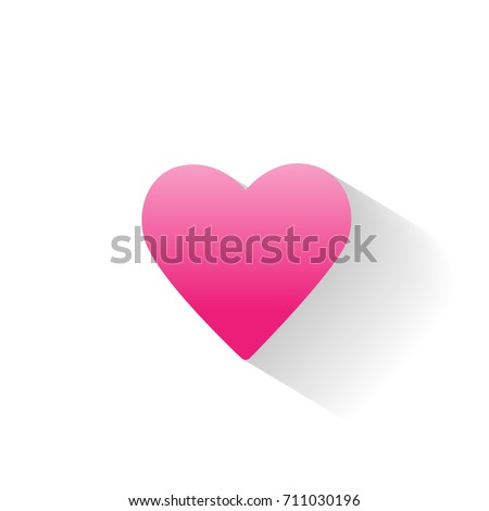 love heart icon concept