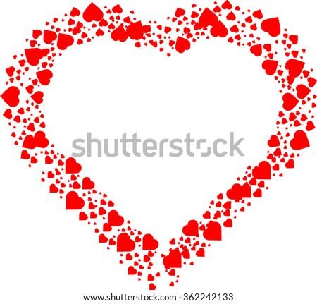 love heart  red heart  heart