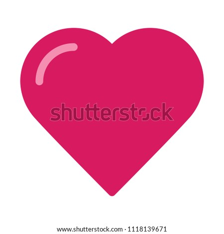 Love Heart Shape