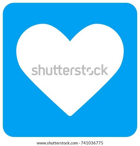 love heart vector icon image