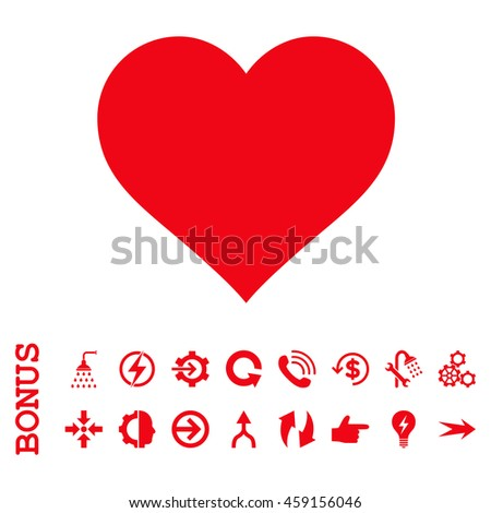love heart vector icon image