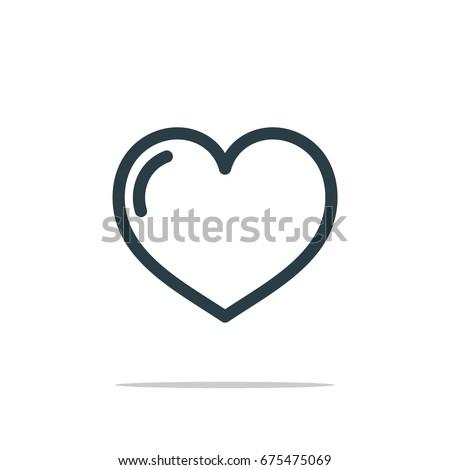 Love Icon Logo Template Illustration Design. Vector EPS 10.