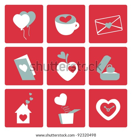love icons   for valentine