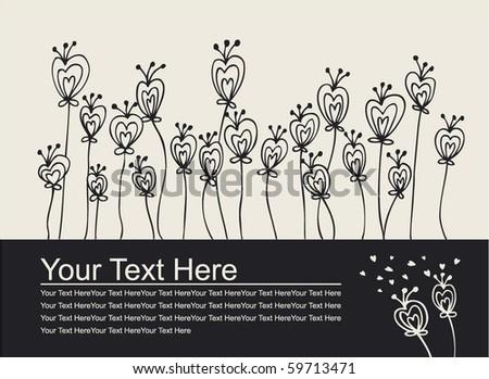 Love invitation card