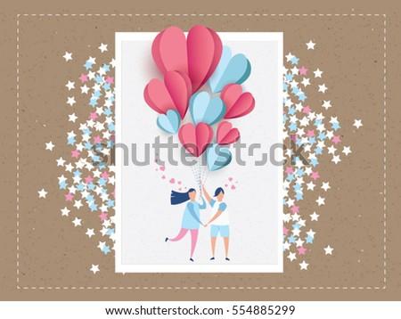 love invitation card valentine