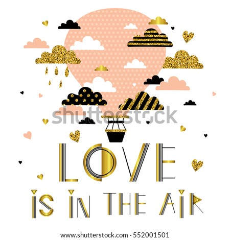 love is in the air valentine's