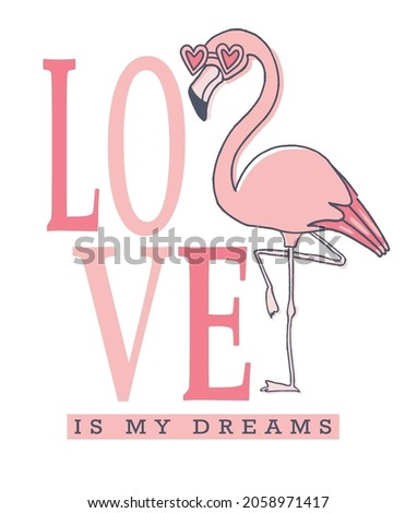 love is my dreams typography