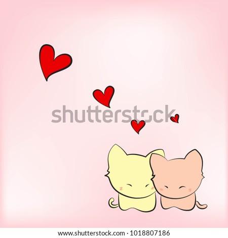 Love kittens art #1018807186