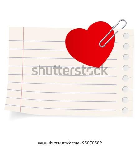 love letter icon illustration