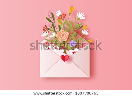 love letter with a bunch of