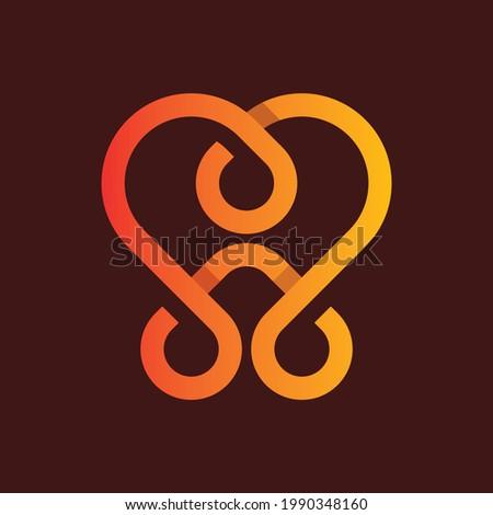 Love Minimalist Business Logo Design