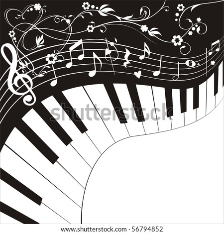 Love music - stock vector