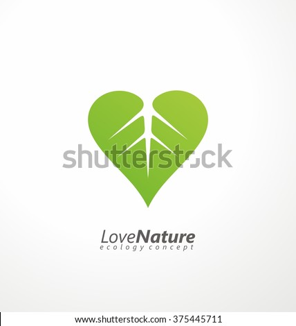 love nature creative logo