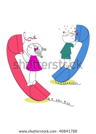 love over the phone