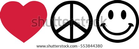 love peace and happyness