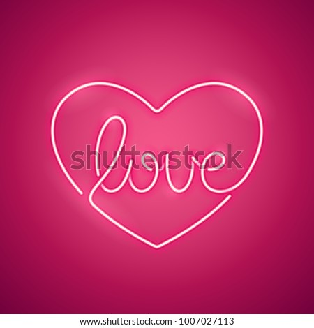 love pink neon sign makes it