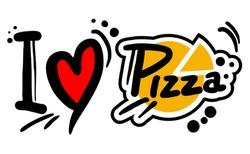 Love pizza