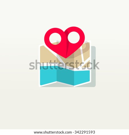 love place pin pointer with