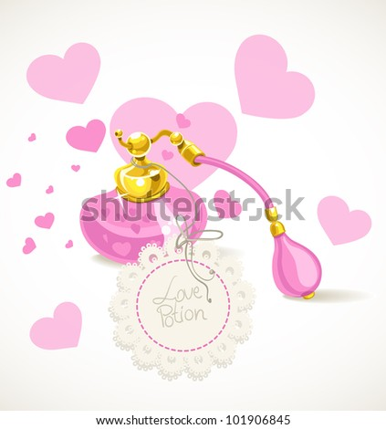 Love potion - stock vector