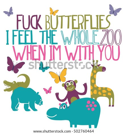 love quote  fuck butterflies i