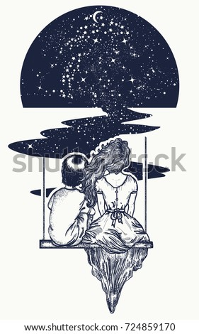 love story tattoo and t shirt