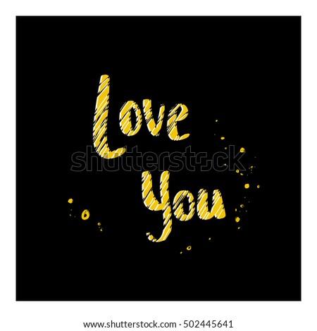 love sun bright postcard black