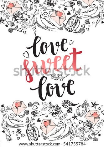 love sweet love background