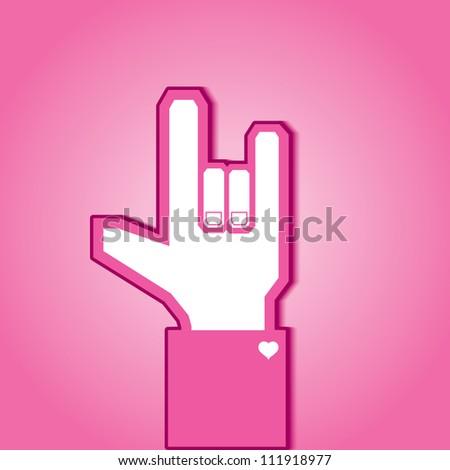 Love symbol, Valentine, vector