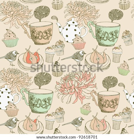 love tea background