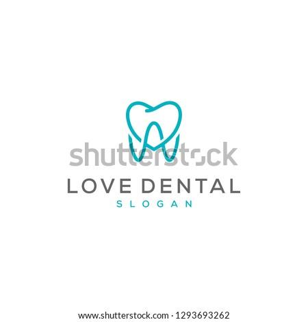 love teeth logo design