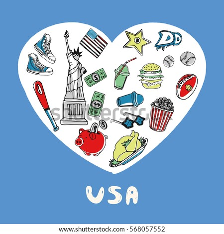 5 Symbols Of American Culture Clipart Library