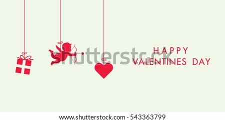 love valentines day card
